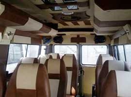 12 seater tempo traveller on hire