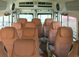 9 seater tempo traveller rental delhi