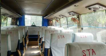 35 seater luxury coach bus hire in delhi