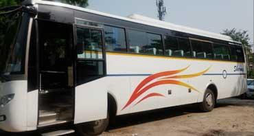 45 seater luxury coach bus hire in delhi