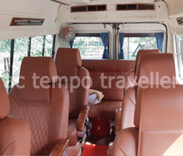 6 seater 1x1 with bed tempo traveller - ATT
