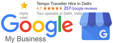 tempo traveller hire - google my business reviews