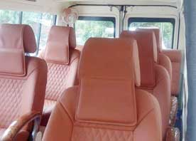 agra same day tour package by 8 seater deluxe tempo traveller