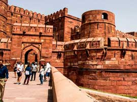 agra red fort tour package