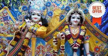 delhi to mathura vrindavan tour by tempo traveller
